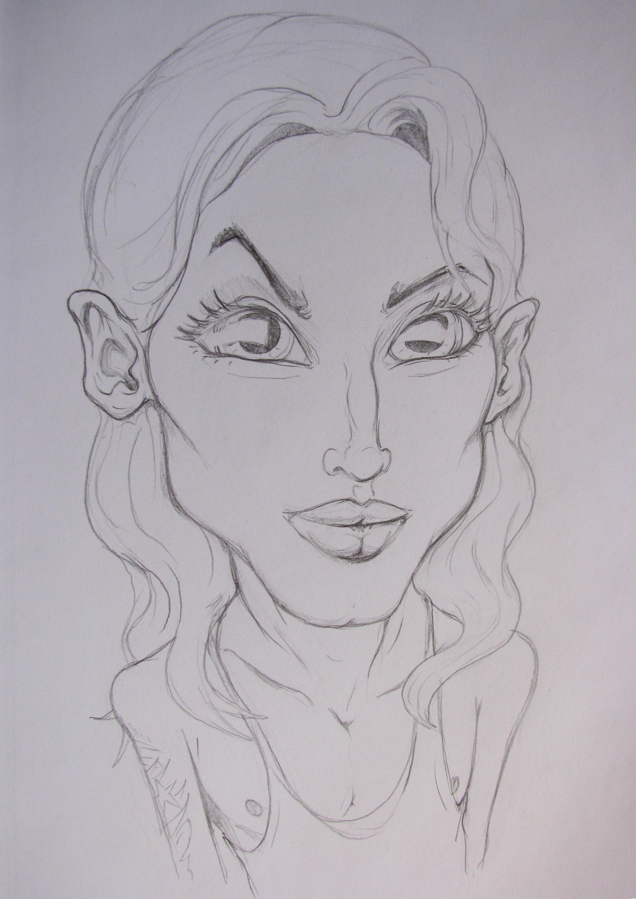 Jake 1st portrait sketch