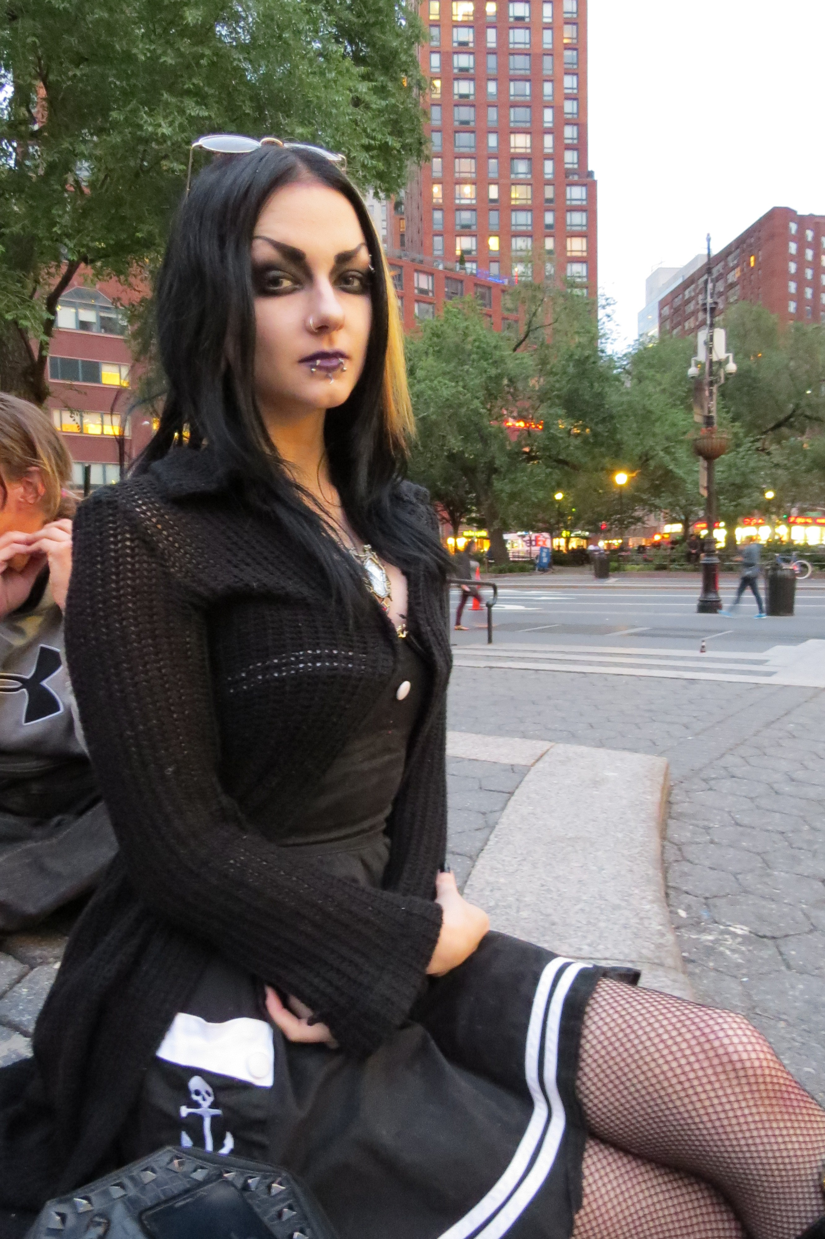 young goth girl