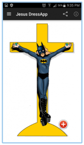 Jesus Dressapp Batman screenshot