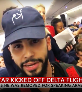 Adam Saleh getting kicked off Delta