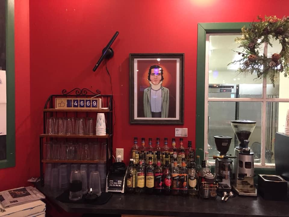 Book Nook Andy Kaufman display