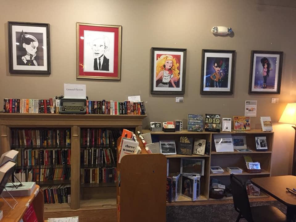 Book Nook display