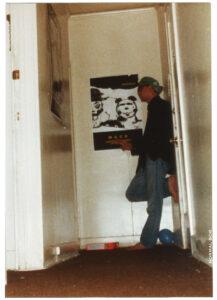 Mark posing in hallway 1988 Hollywood