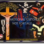 Star Wars Jesus Dressup magnet set.