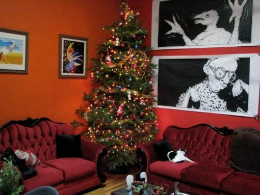 Livingroom – Xmas 2010