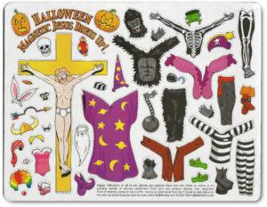 Halloween Jesus Dressup 2007 $10