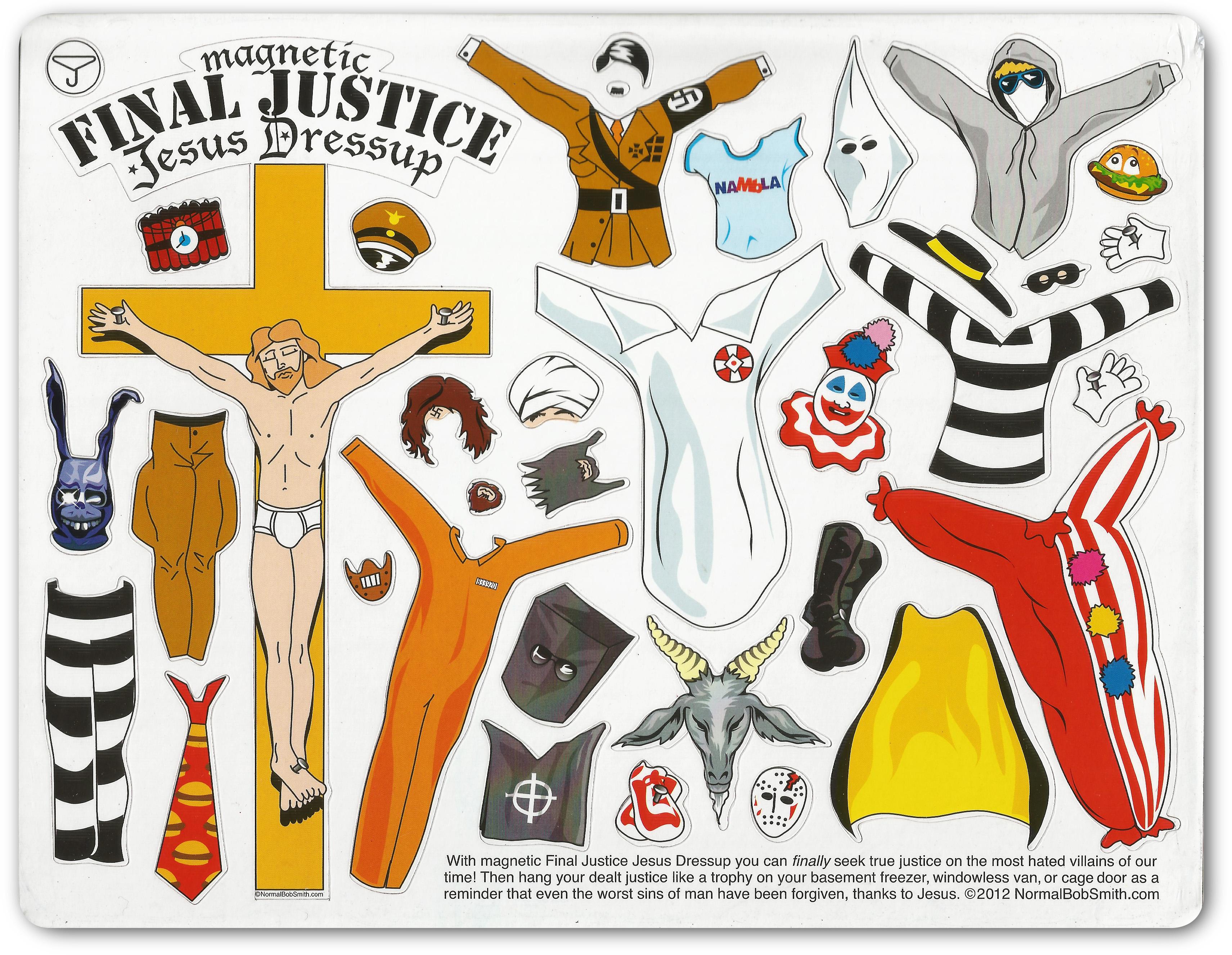 Final Justice Jesus Dressup 2012 $14