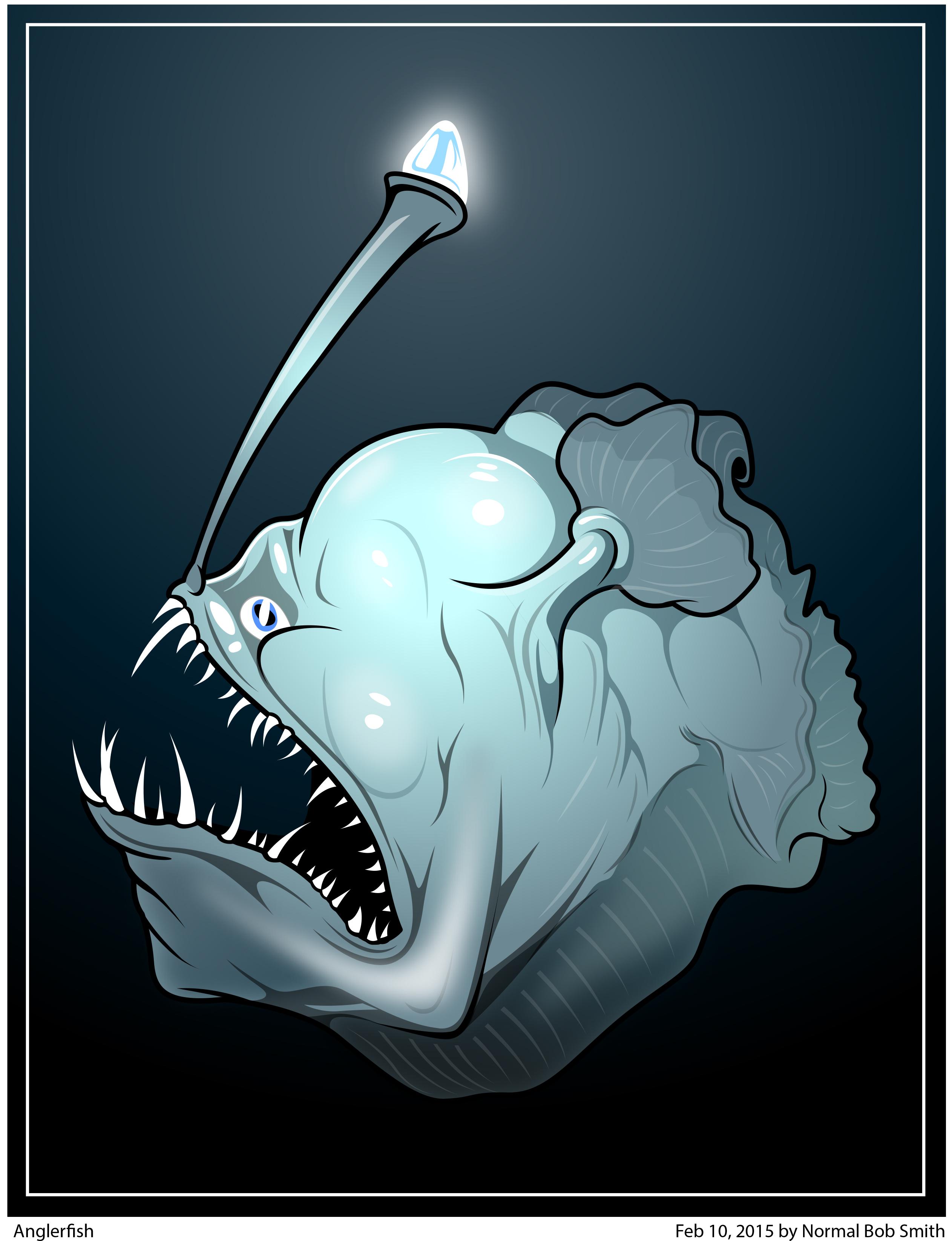 anglerfish art