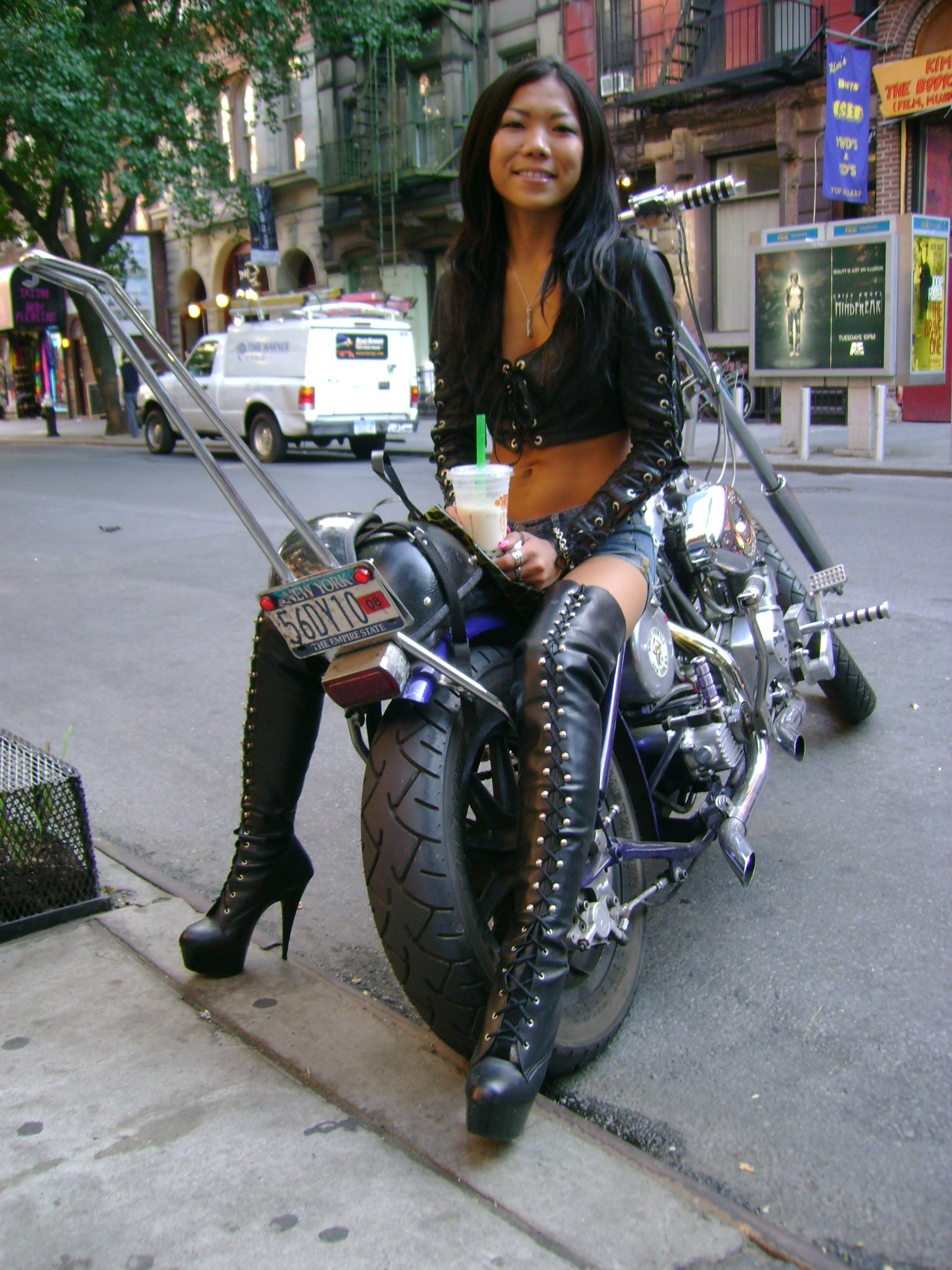 Hot Asian Biker Babe – Sept 20, 2007 | normalbob.com