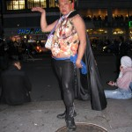 gay man posing