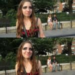weird goth girl