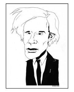 """Warhol 16"""" X 20"""" $50"""