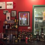 Andy Kaufman framed at Book Nook