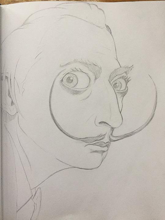 Dali sketch