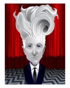 "David Lynch 16"" X 20"" $50"